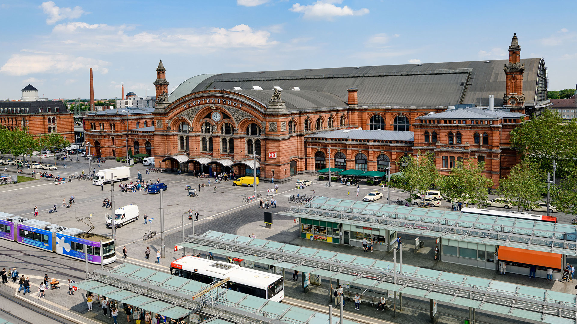 Près de la gare centrale de Brême - Aparthotel Adagio Bremen