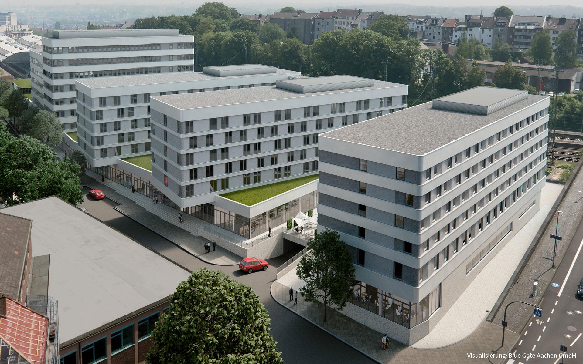 Holiday inn express aachen success hotel group for Designhotel aachen