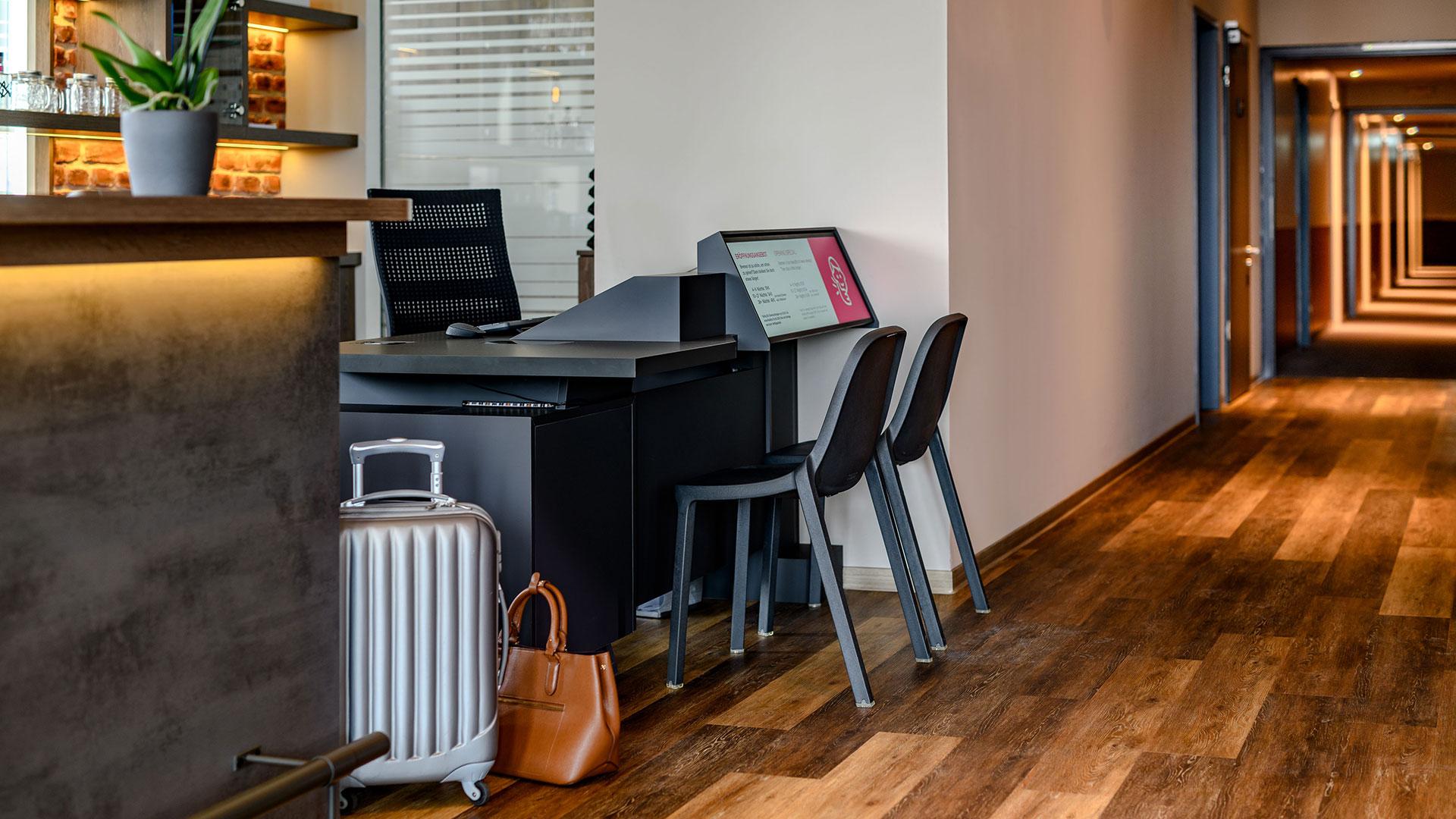 Foto des Front Desk - Aparthotel Adagio Bremen