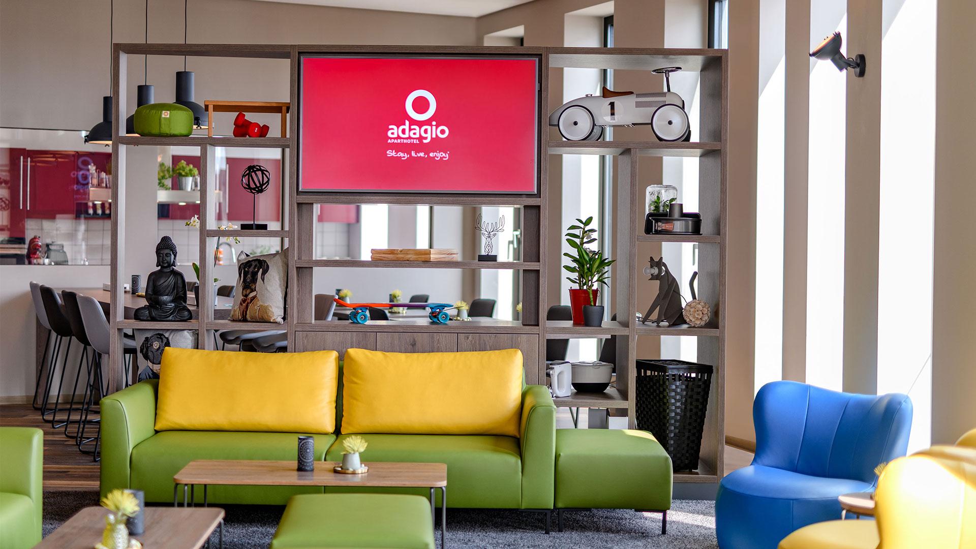 Foto der Lounge - 01 - Aparthotel Adagio Bremen