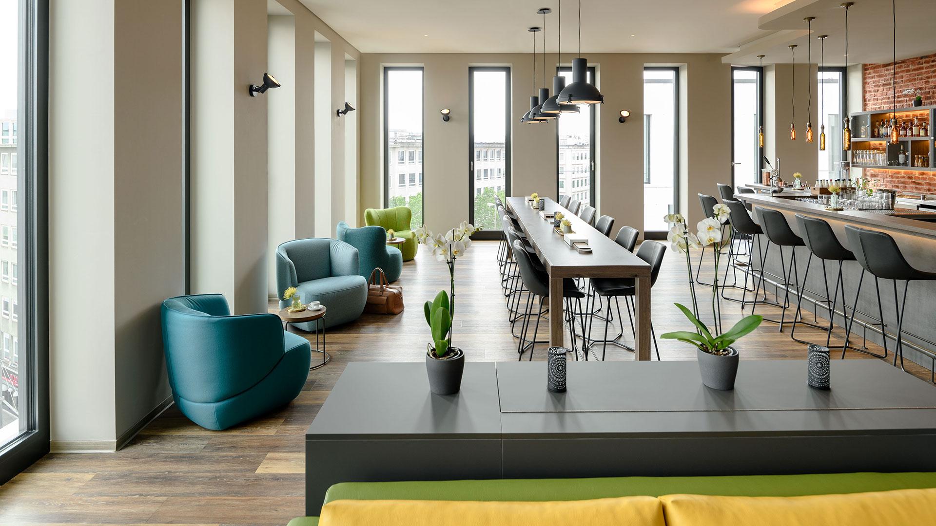 Foto der Lounge - 03 - Aparthotel Adagio Bremen
