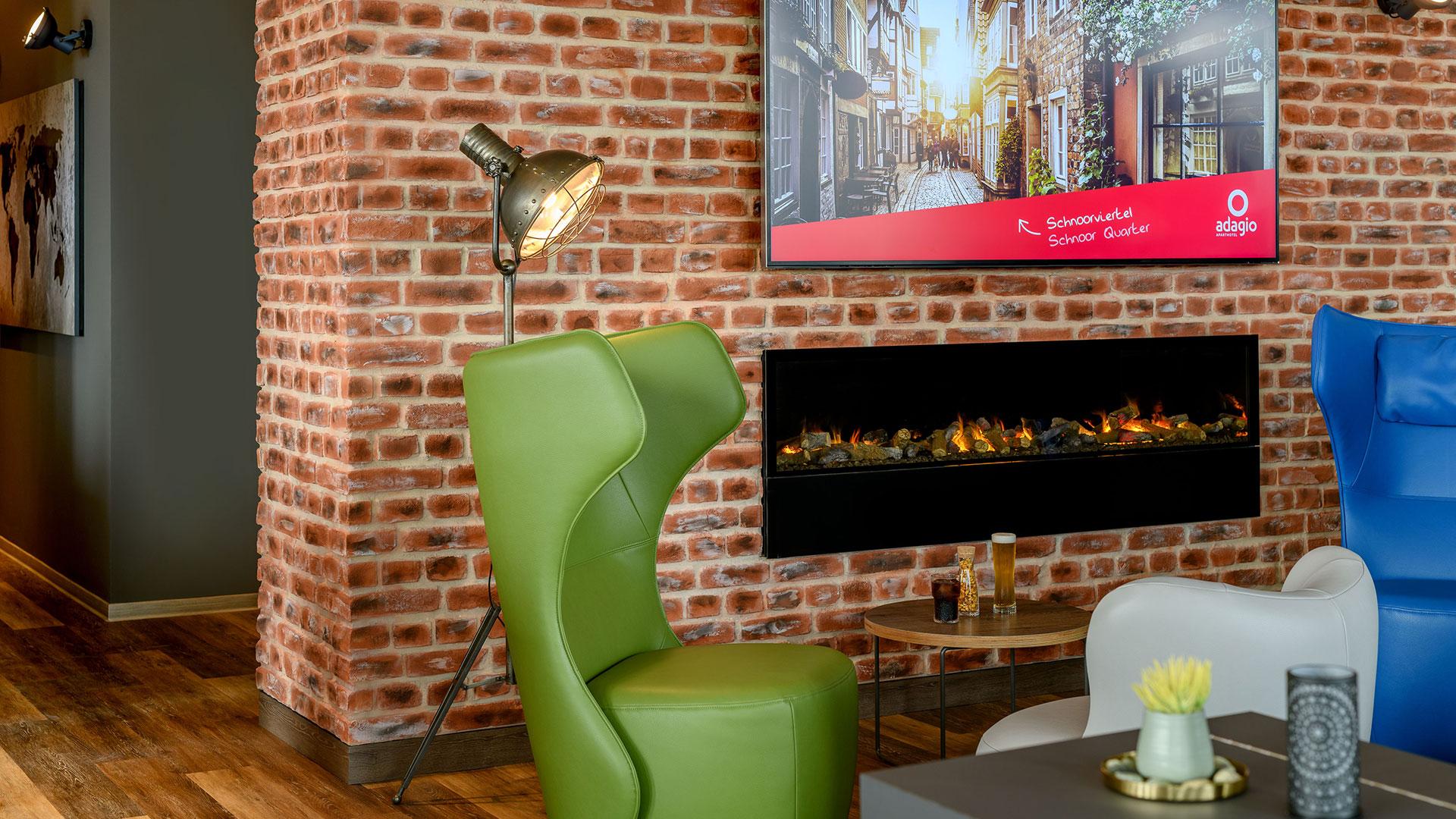 Foto der Lounge - 04 - Aparthotel Adagio Bremen