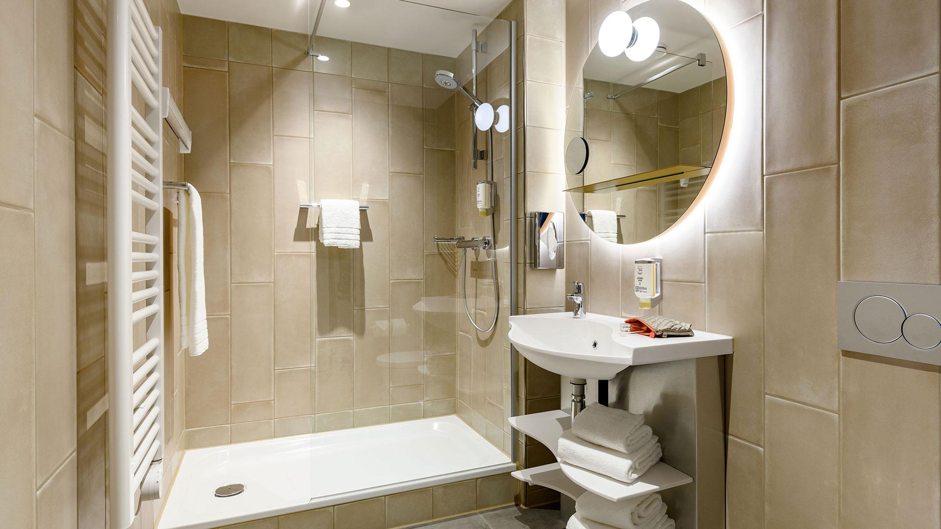 Foto eines Badezimmers - Aparthotel Adagio Bremen