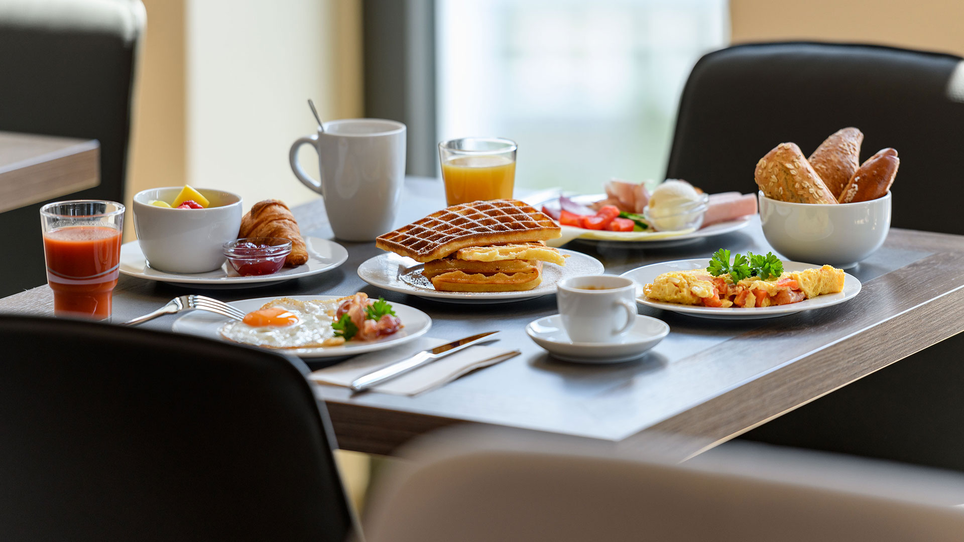 Photo of the breakfast - Aparthotel Adagio Bremen