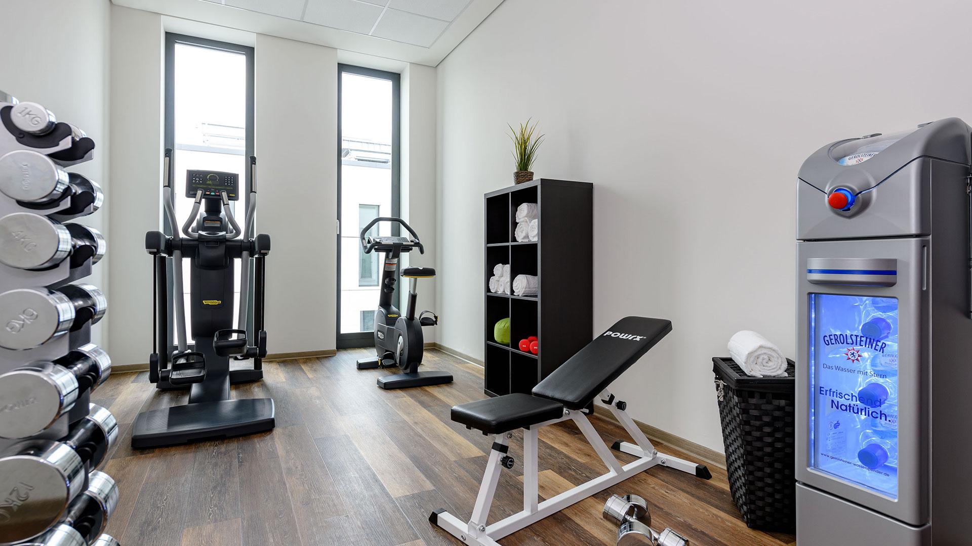 Foto des Fitness-Bereichs - 01 - Aparthotel Adagio Bremen
