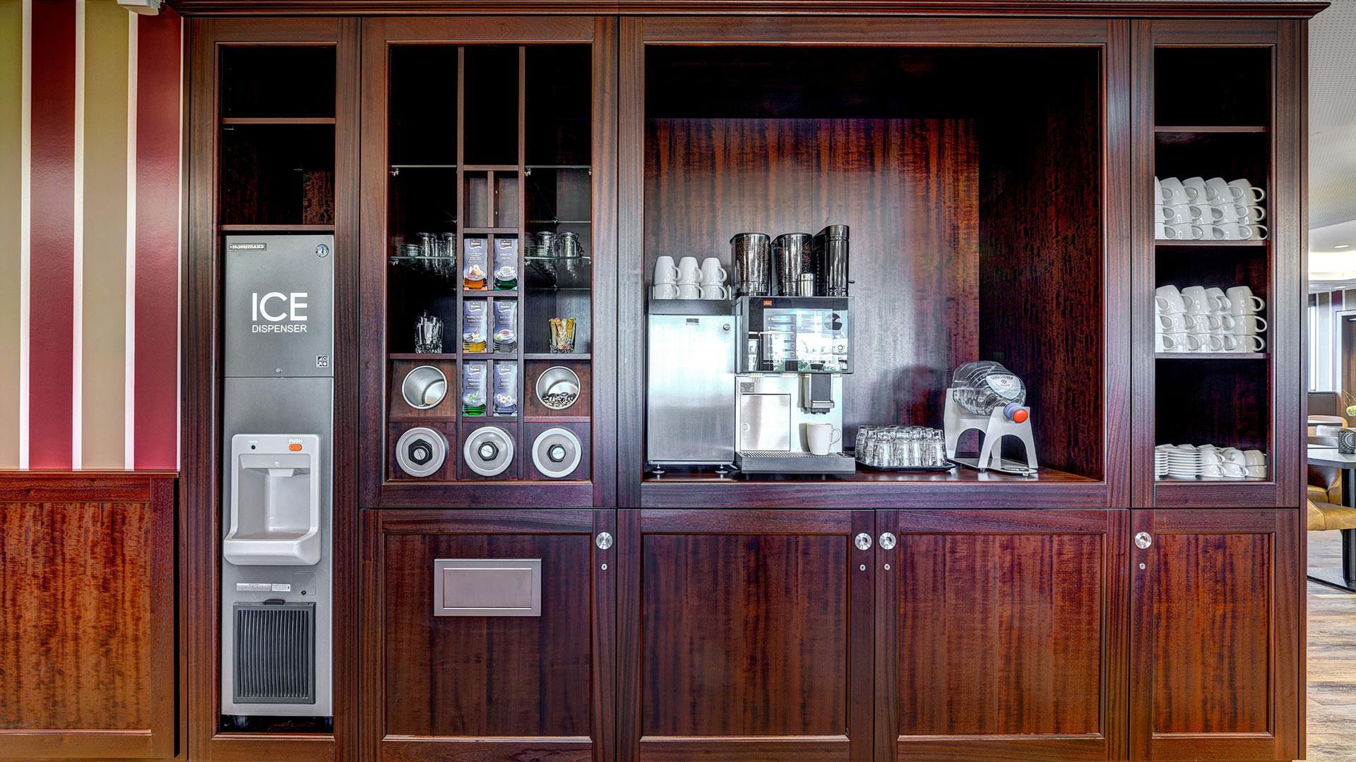 Photo de la machine à café - Aparthotel Frankfurt City