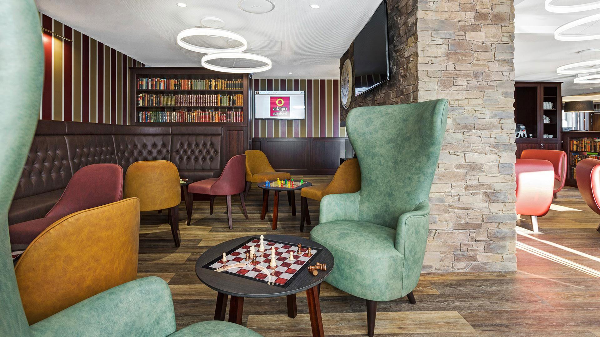 Foto der Lounge - 02 - Aparthotel Frankfurt City
