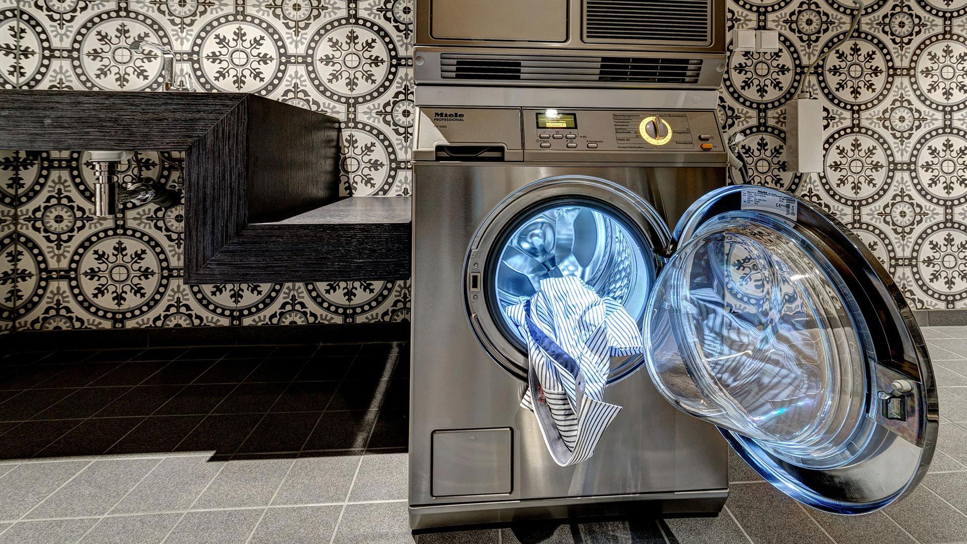 Foto des Waschraumes - Aparthotel Frankfurt City