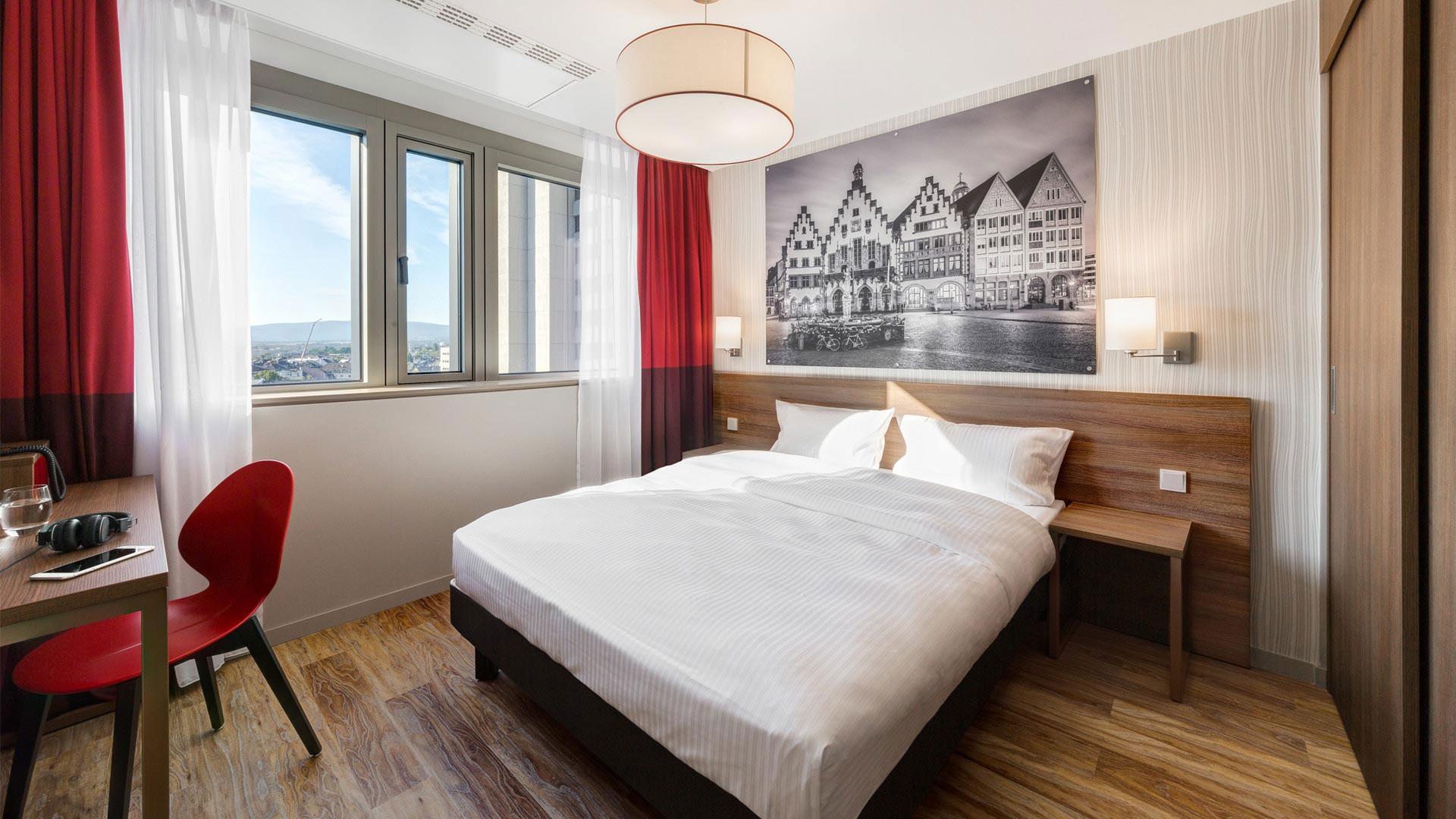 Photo d'une vue d'une chambre - 04 - Aparthotel Frankfurt City