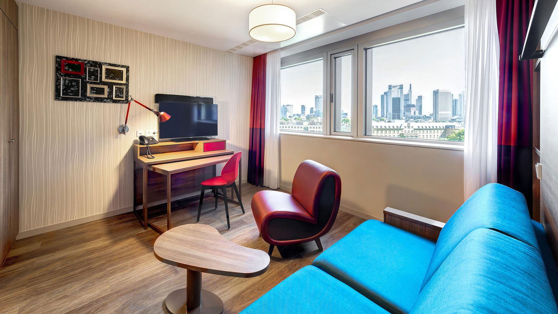 Photo d'une vue d'une chambre - 02 - Aparthotel Frankfurt City