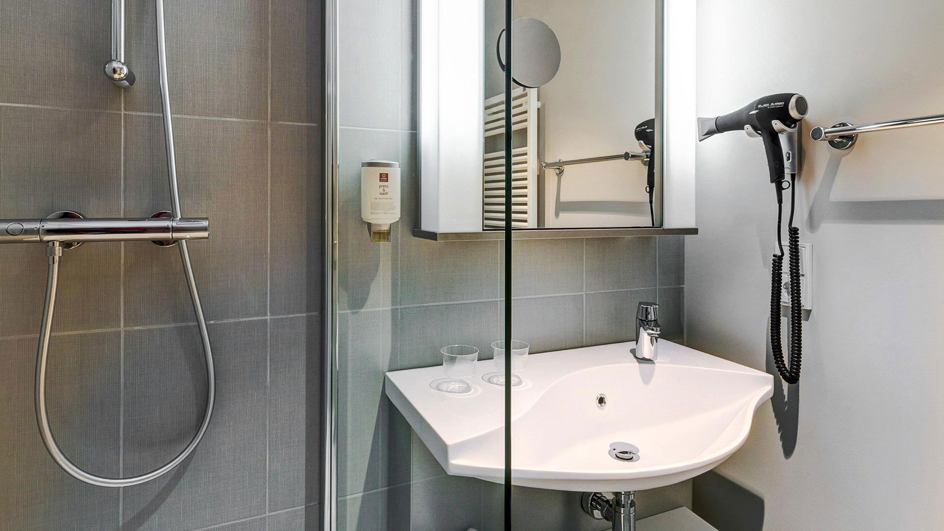 Photo de salle de bains - Aparthotel Frankfurt City