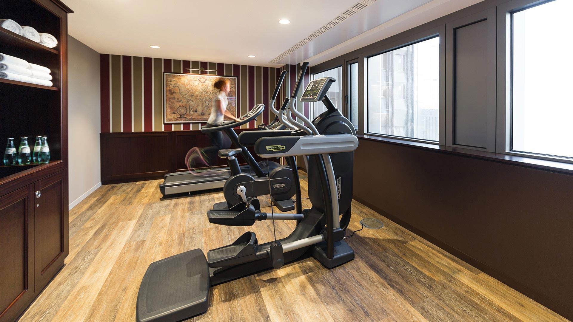 Foto des Fitnessbereichs - Aparthotel Frankfurt City