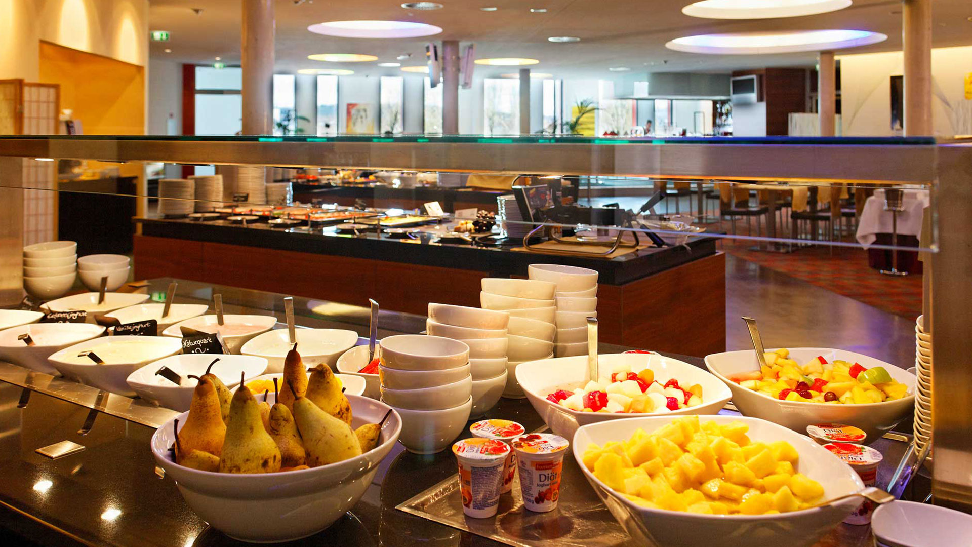 Photo du petit déjeuner - Hilton Garden Inn Stuttgart NeckarPark