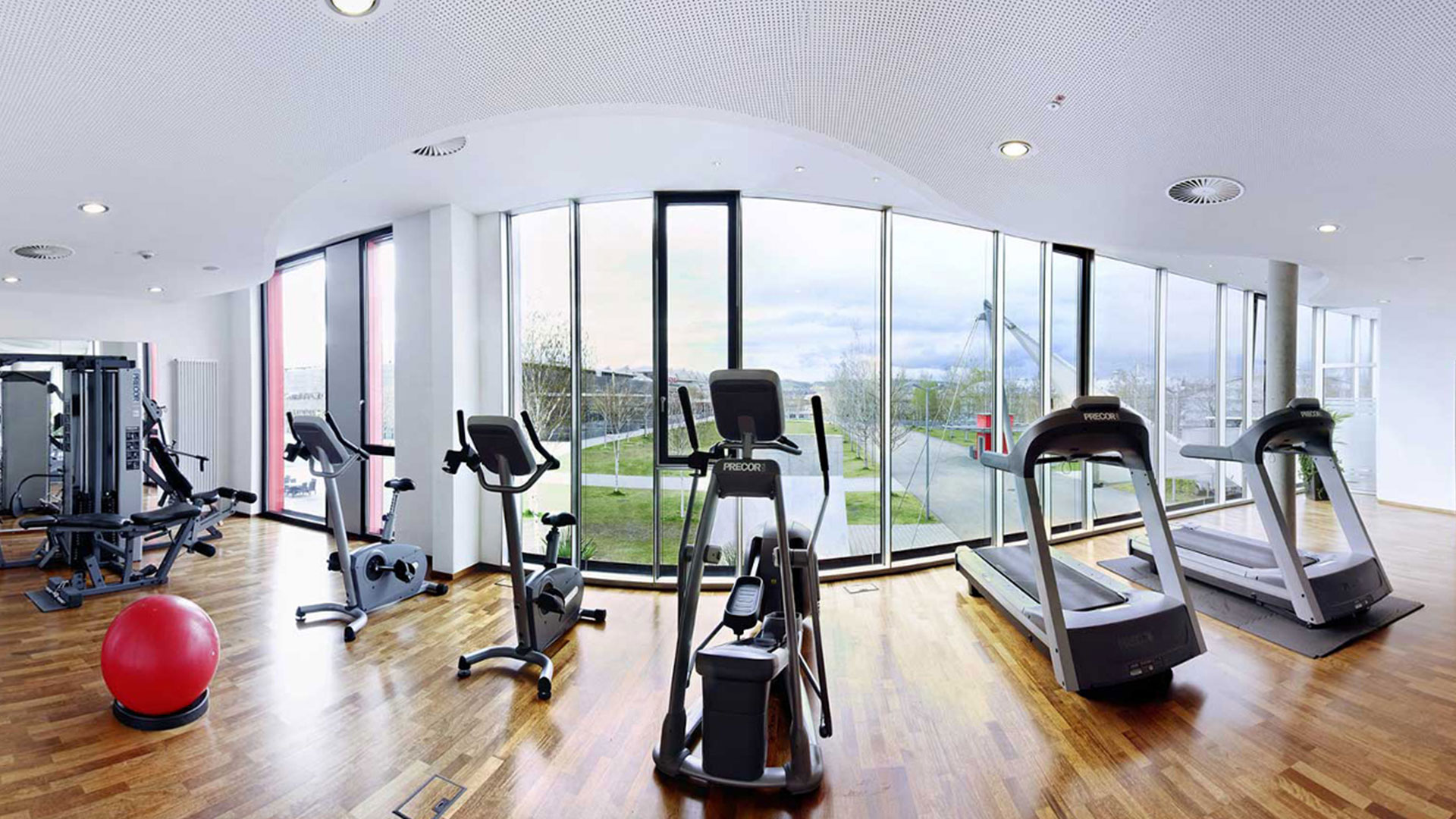 Photo of the fitness area - Hilton Garden Inn Stuttgart NeckarPark