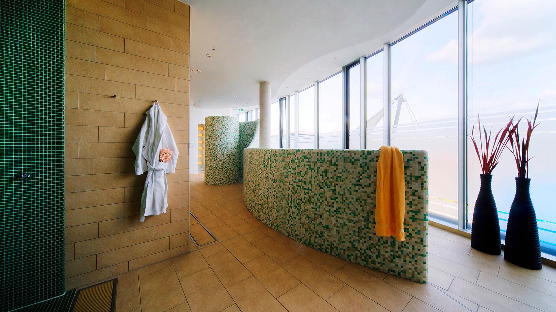 Foto des Wellnessbereichs - Hilton Garden Inn Stuttgart NeckarPark