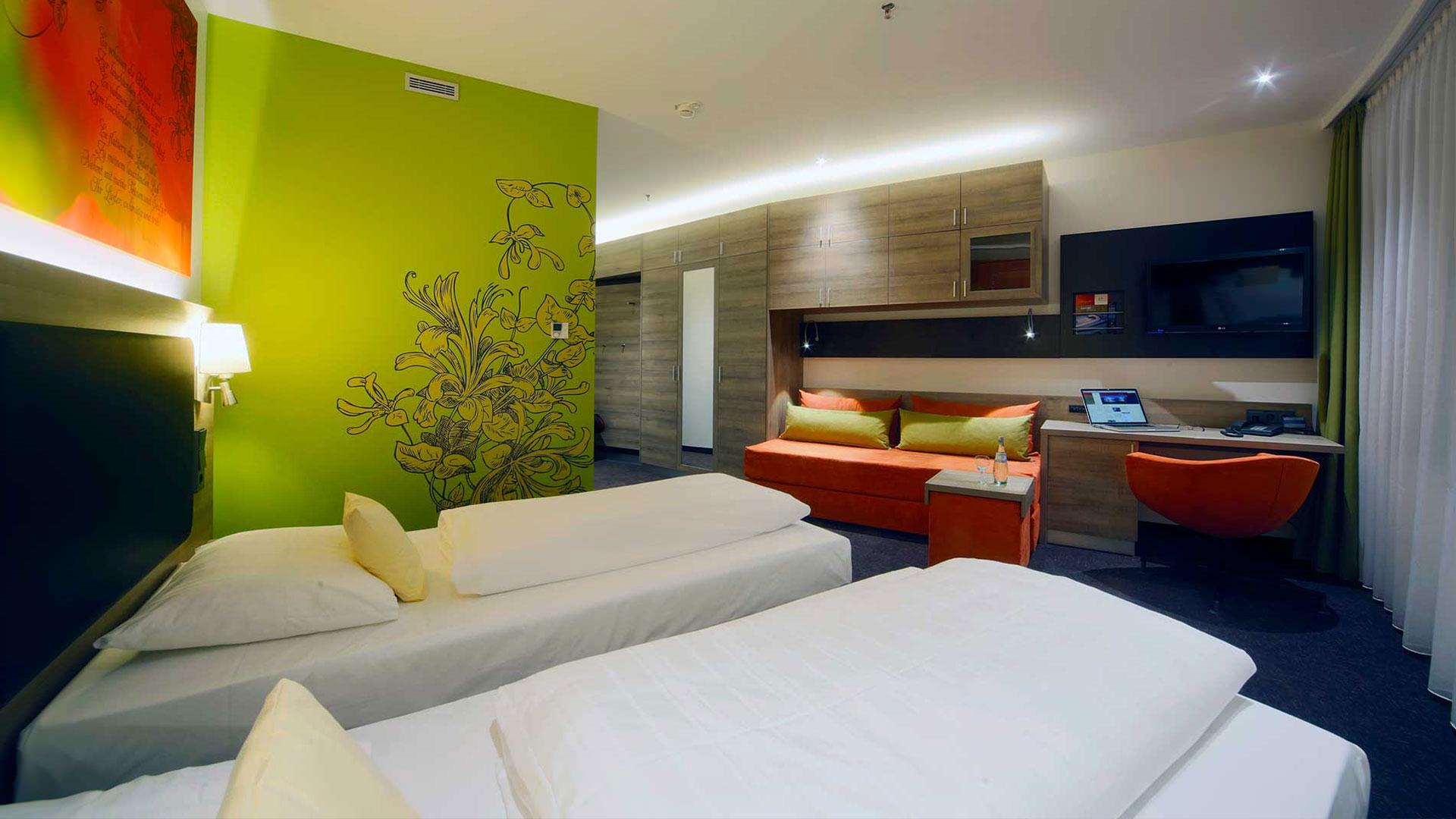 Foto einer Zimmeransicht - 05 - Hanse Hotel Attendorn
