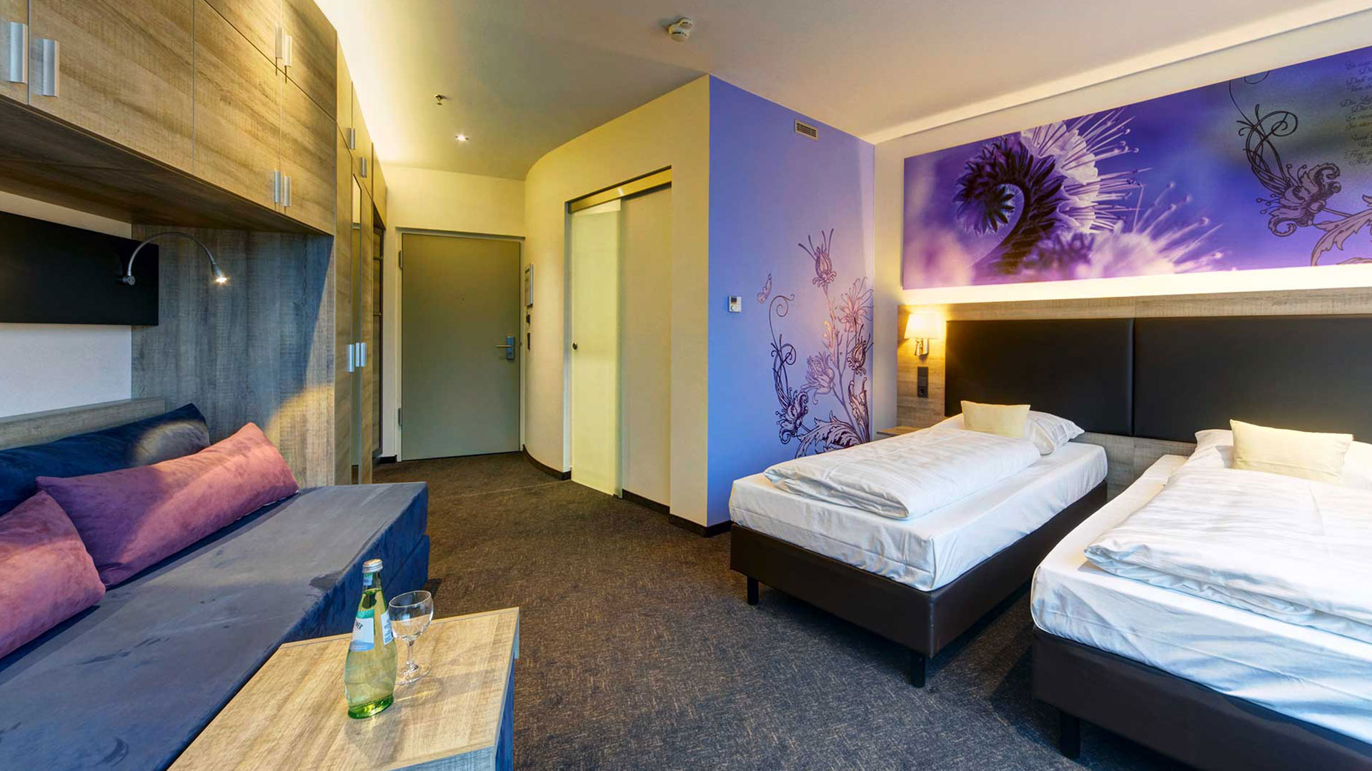 Foto einer Zimmeransicht - 04 - Hanse Hotel Attendorn