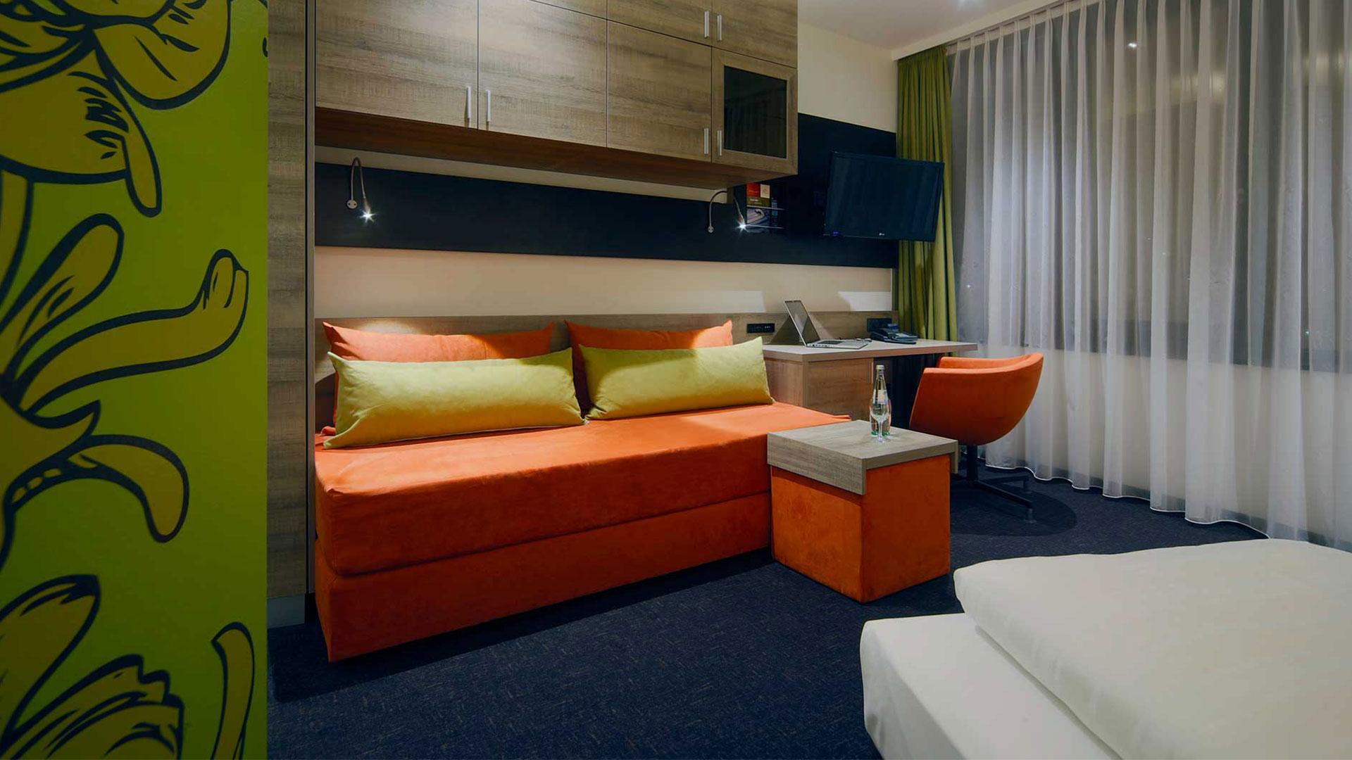 Foto einer Zimmeransicht - 02 - Hanse Hotel Attendorn
