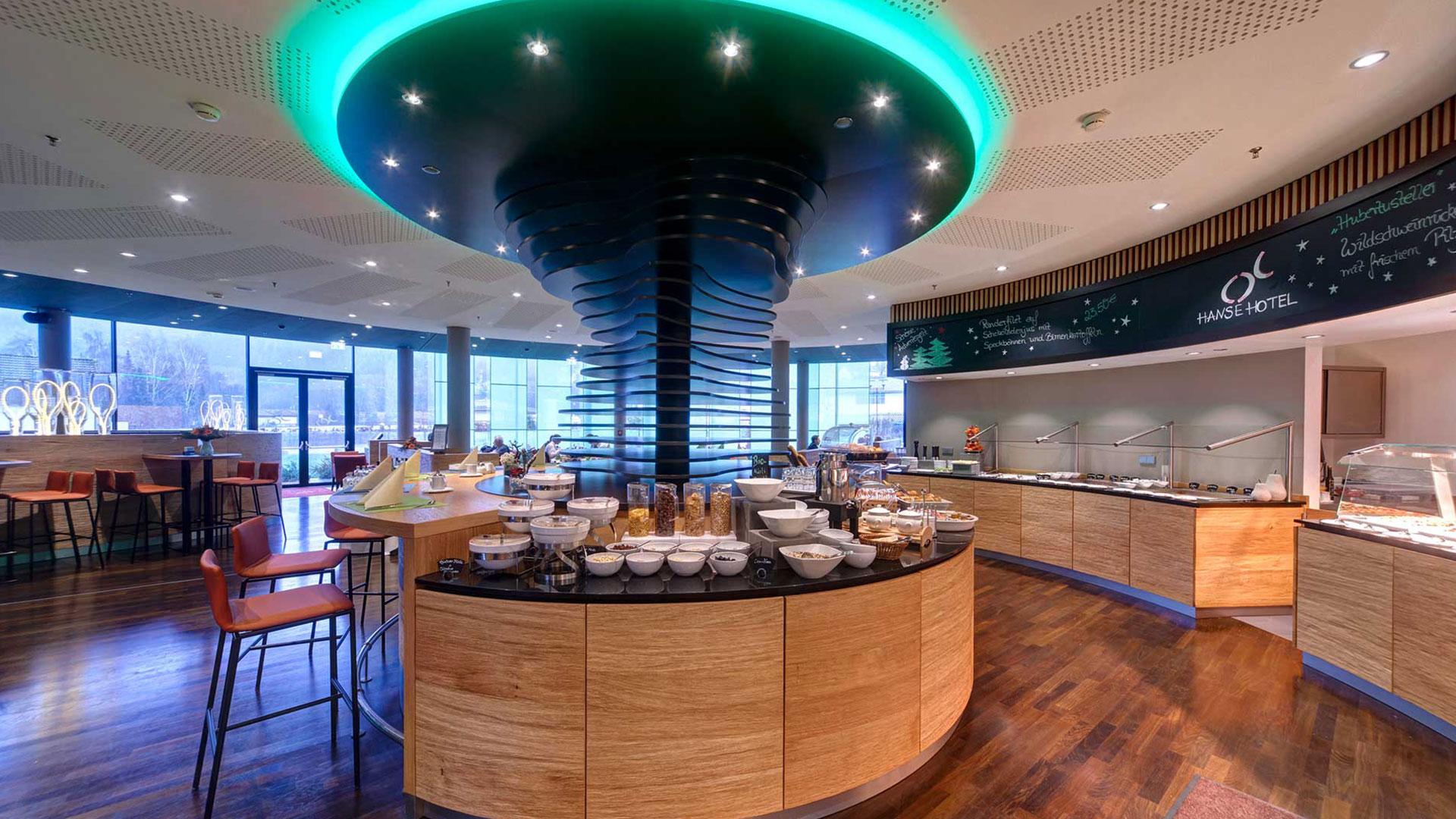 Photo of the breakfast area - 01 - Hanse Hotel Attendorn