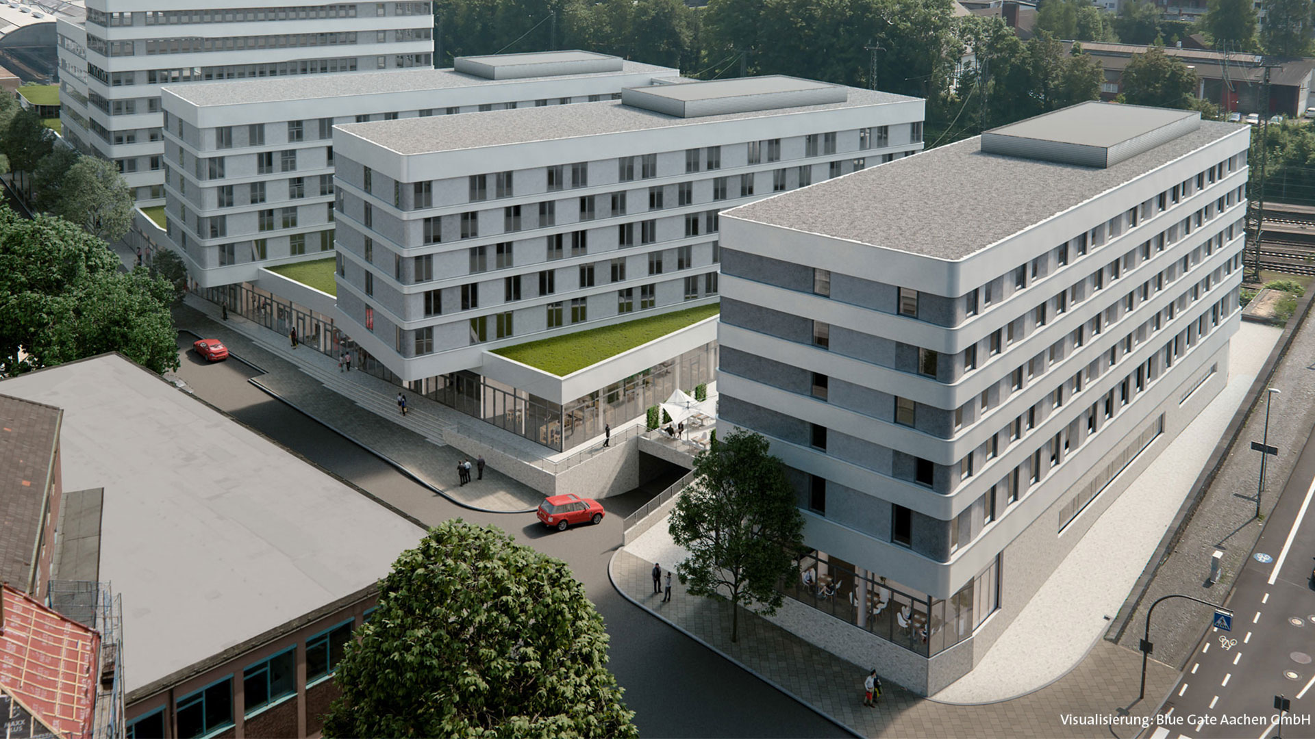 Exterior - Holiday Inn Express Aachen