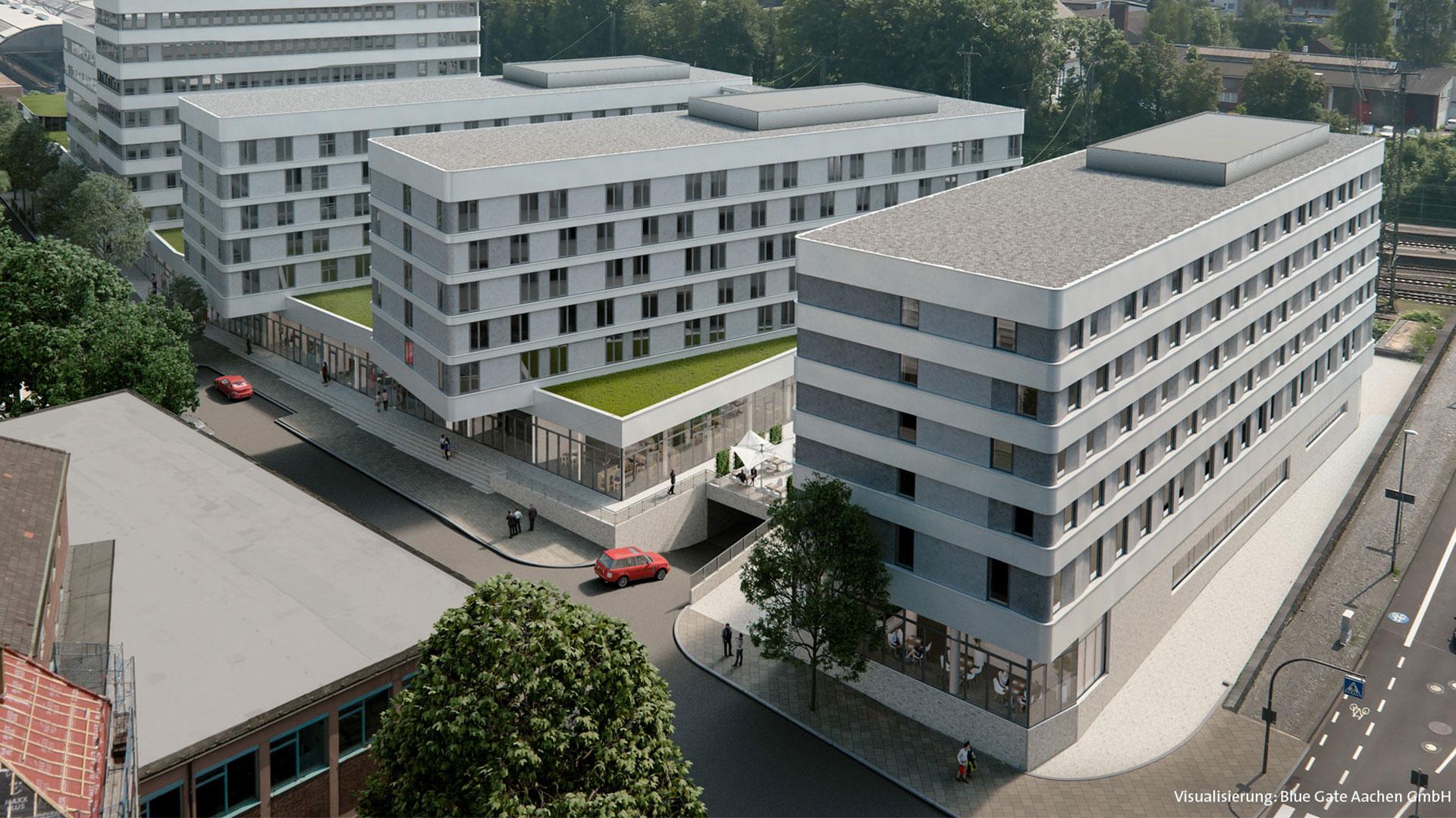 Foto der Außenansicht - Holiday Inn Express Aachen