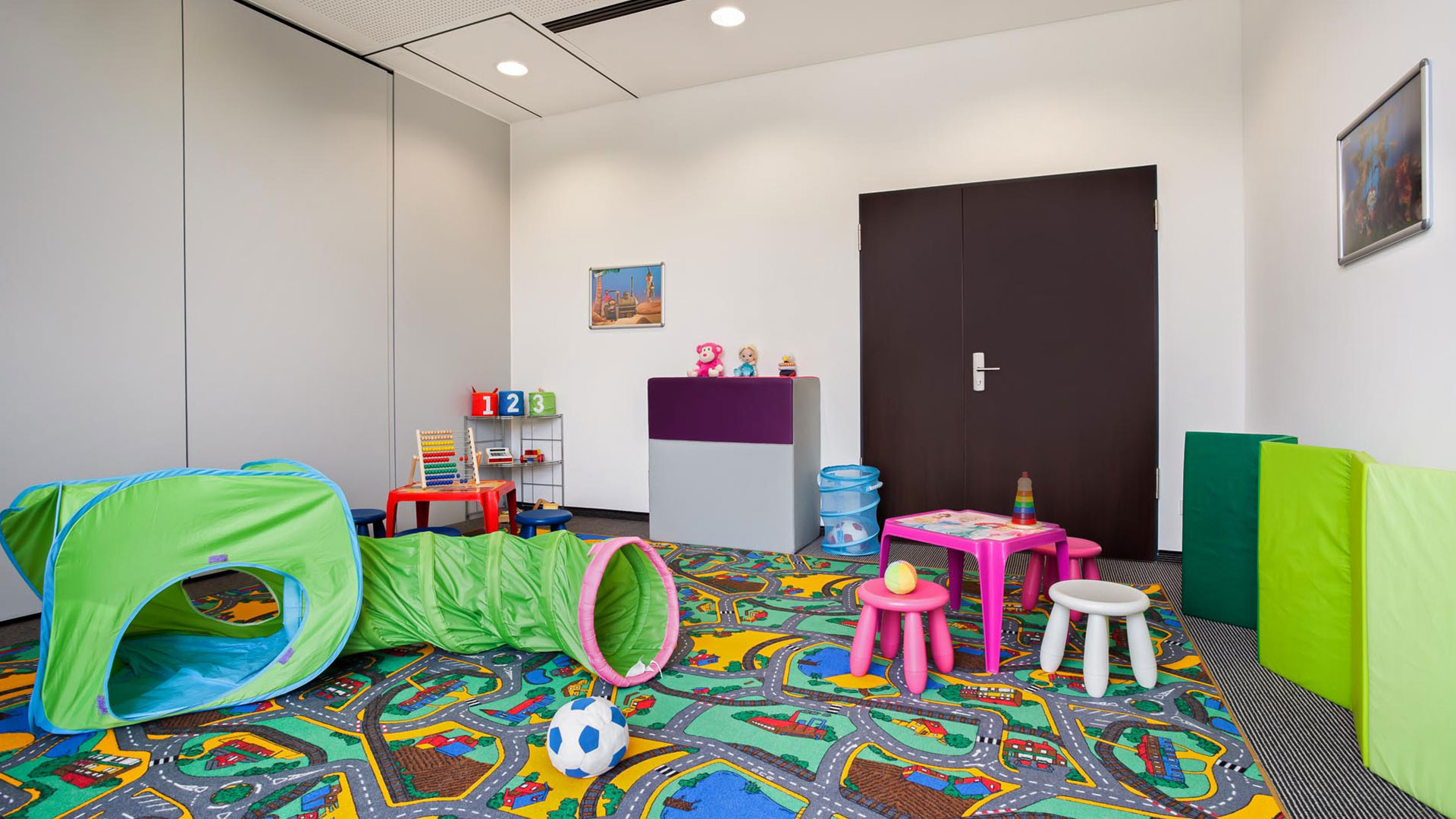 Photo of the playroom of the Holiday Inn Express Augsburg