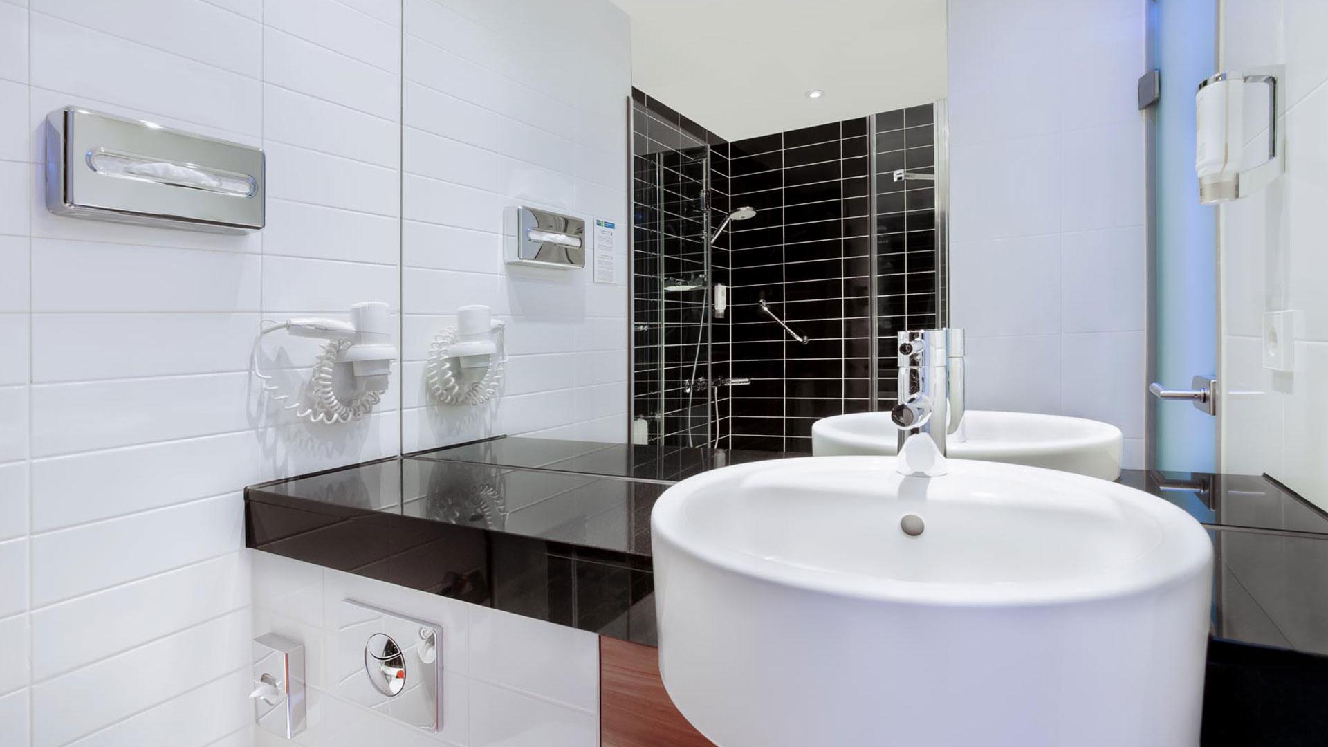Foto eines Badezimmers - Holiday Inn Express Augsburg