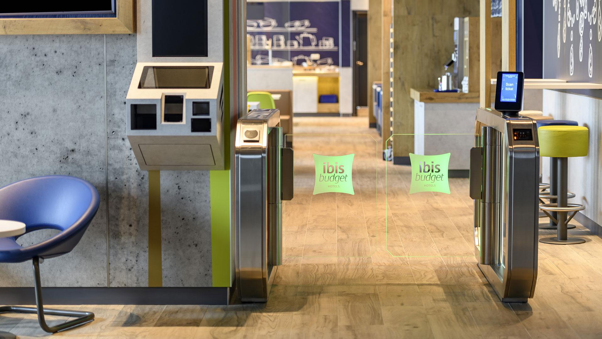 Foto vom Eingang zum Frühstücksraum - ibis budget Bremen City Center