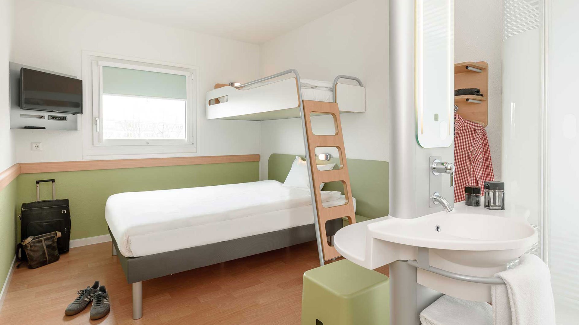 Photo of a room view - 02 - ibis budget Ludwigsburg