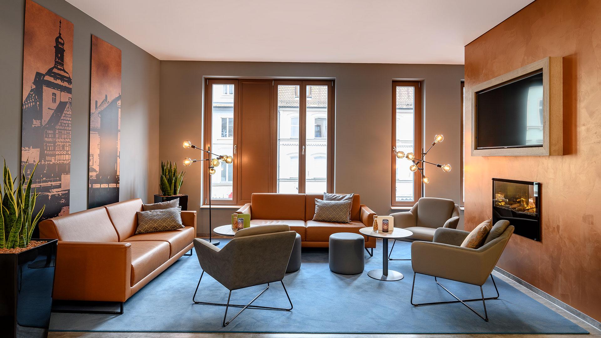 Foto der Lounge - 01 - ibis Styles Bamberg
