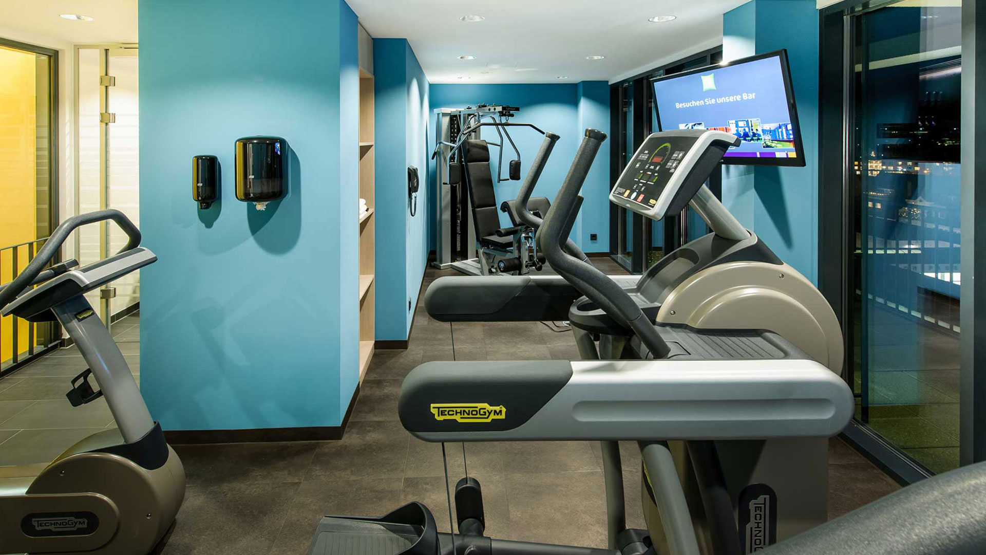 Photo de l'espace fitness - ibis Styles Nagold-Schwarzwald