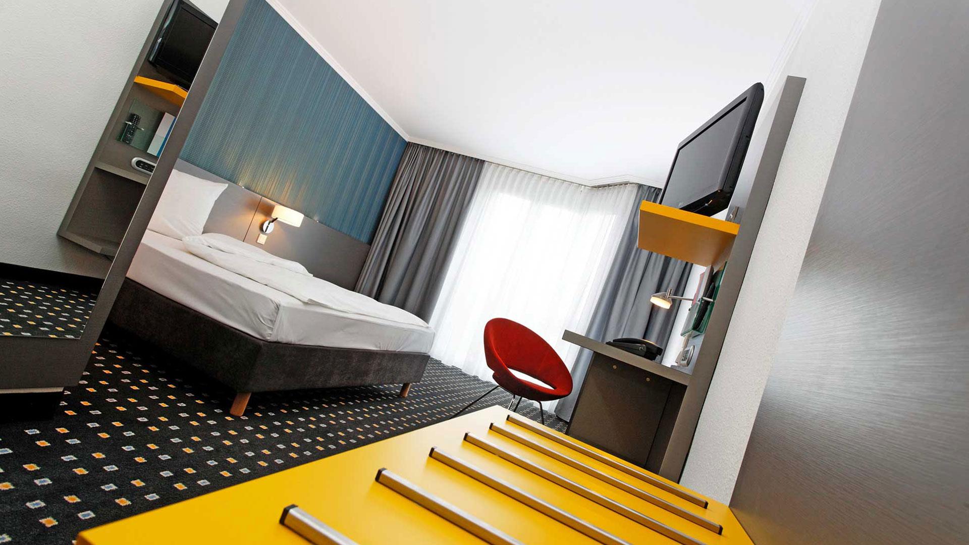 Foto einer Zimmeransicht - 02 - ibis Styles Stuttgart