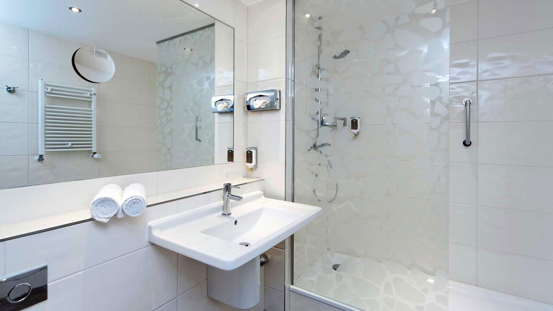 Foto eines Badezimmers - ibis Styles Stuttgart