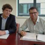 Success Hotel Group comes to Antwerp with Aparthotel Adagio: Emmanuel Van Canneyt (left) and Michael Friedrich (right).