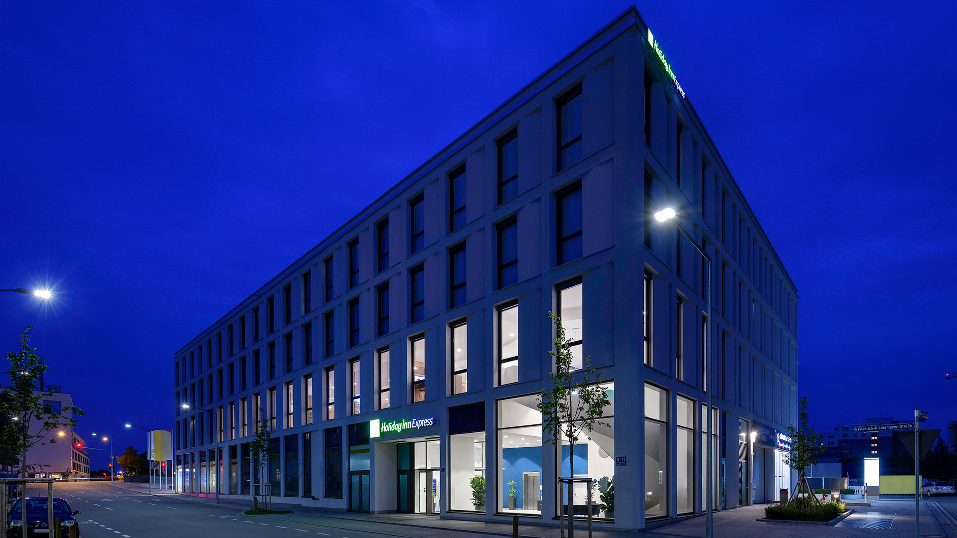Photo de la vue extérieure - Holiday Inn Express Regensburg
