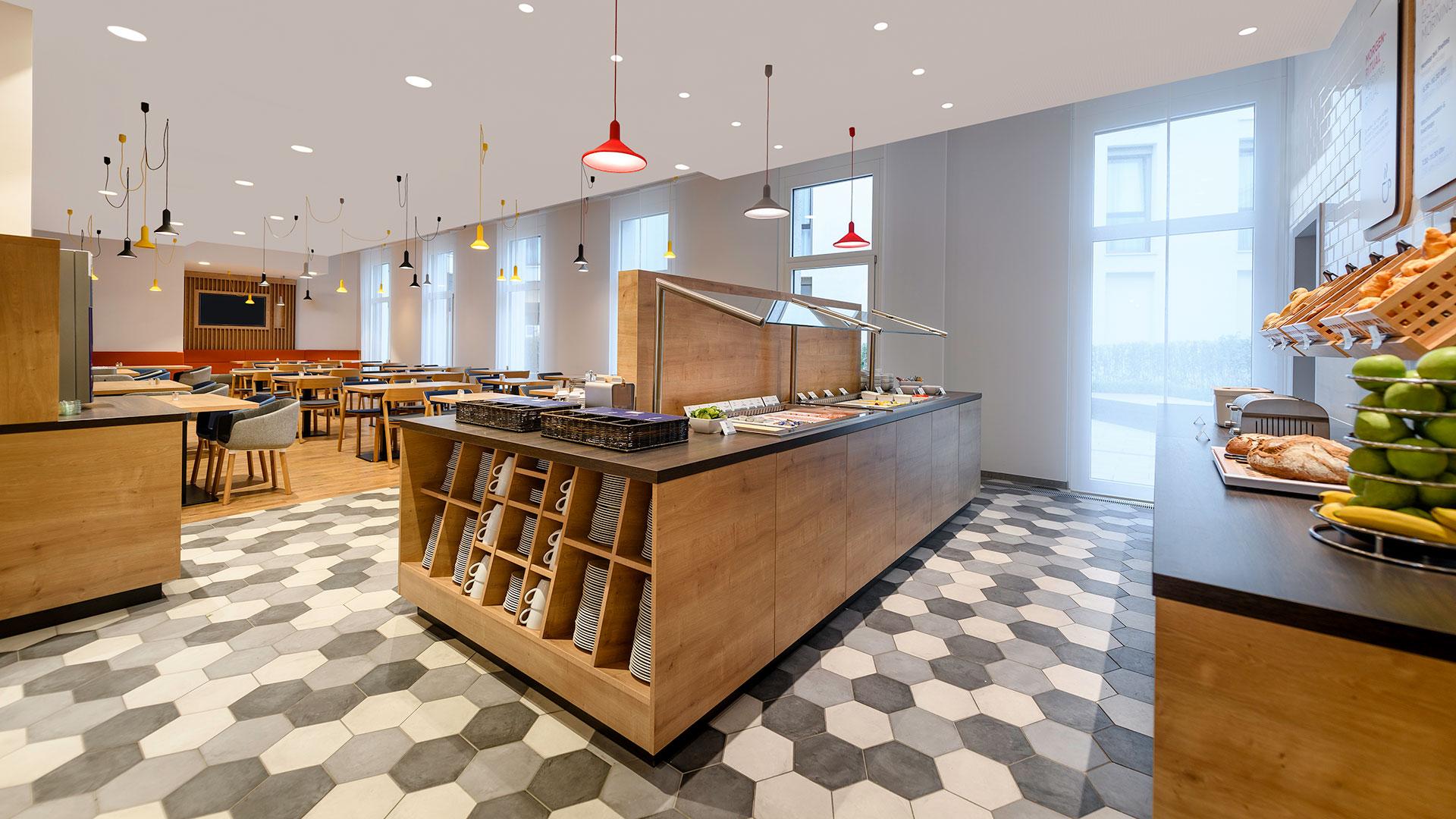Foto vom Restaurant - Holiday Inn Express Regensburg