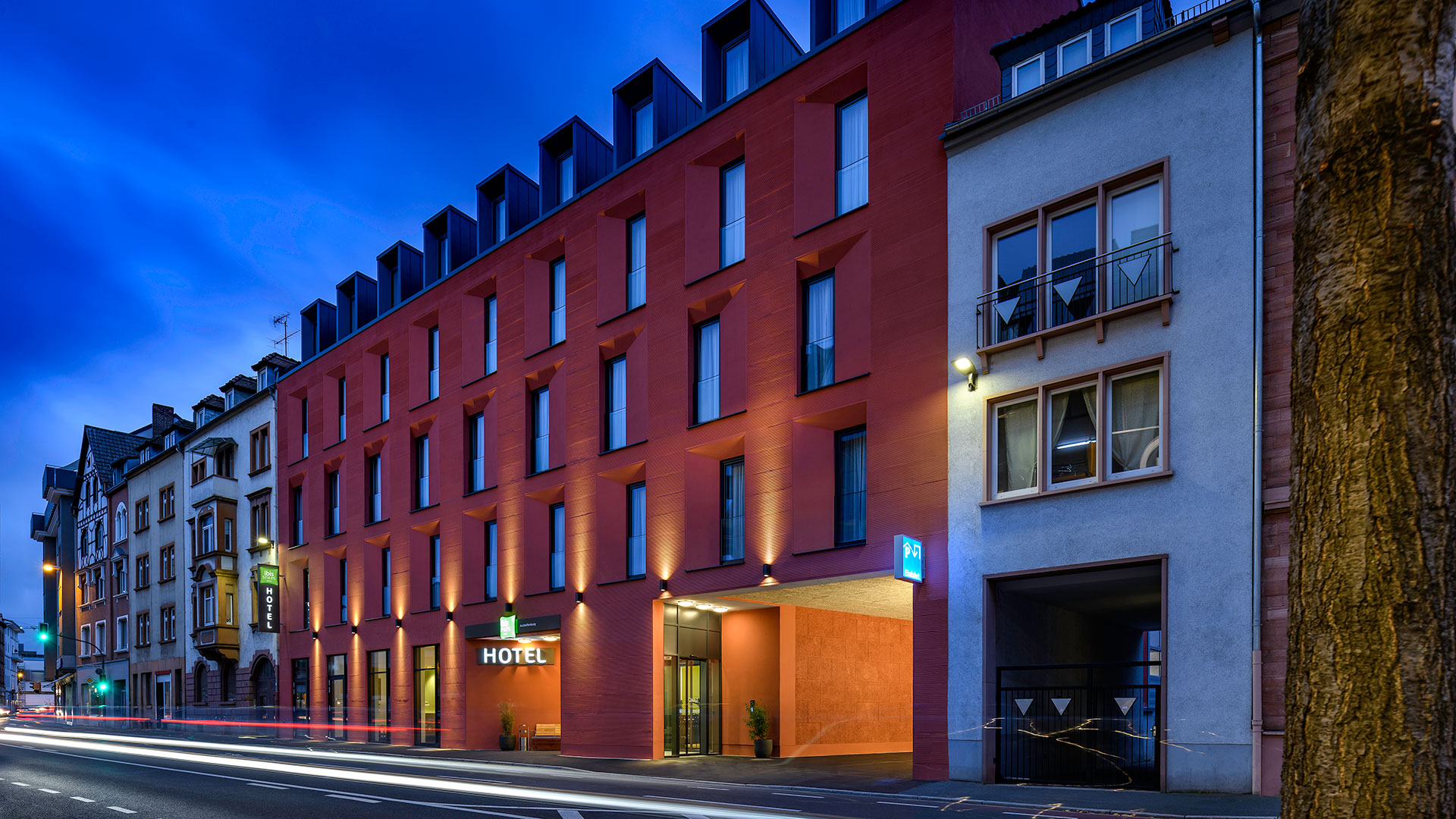 Photo of the exterior view - 01 - ibis Styles Aschaffenburg