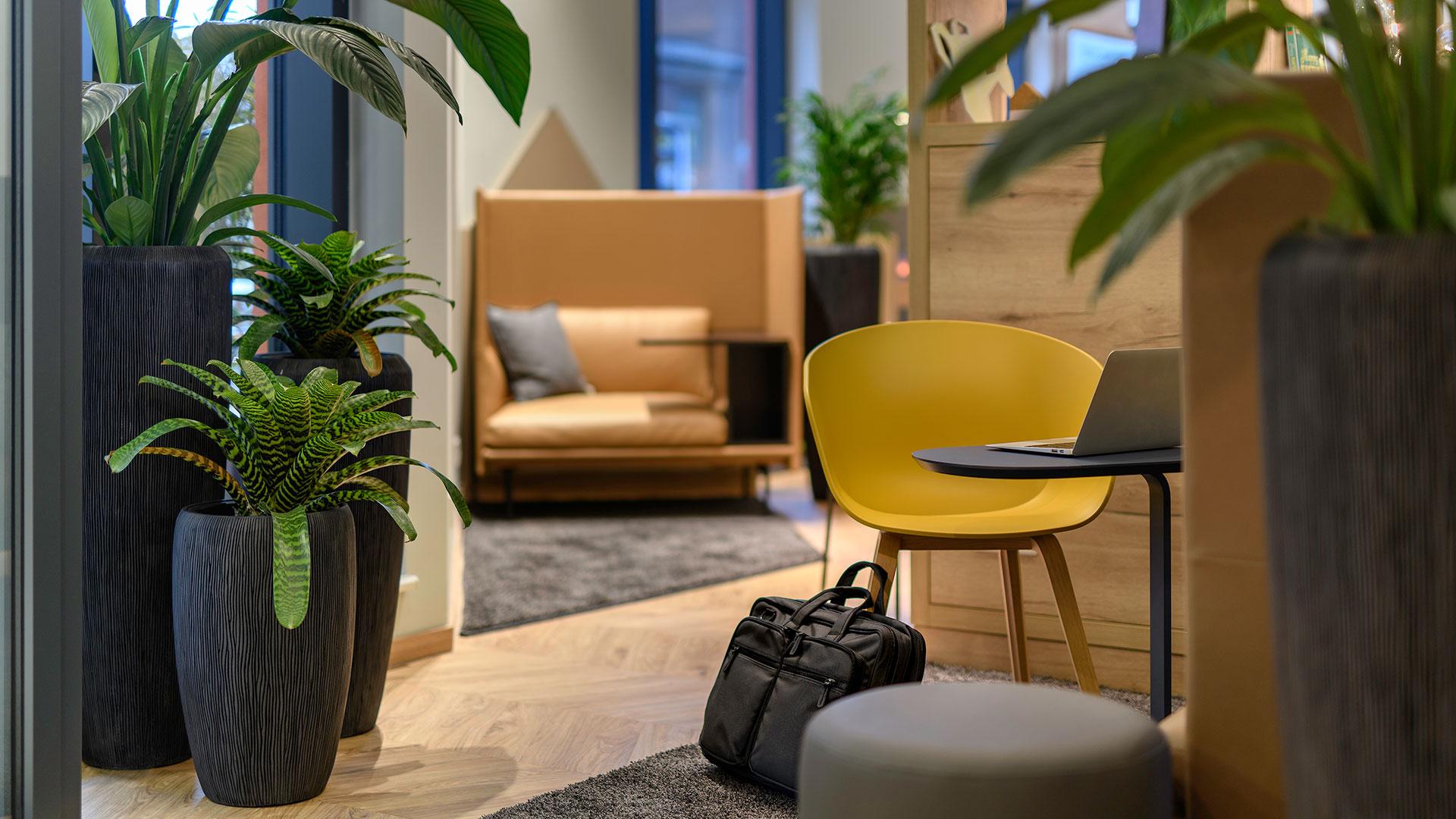 Foto der Lounge - ibis Styles Aschaffenburg