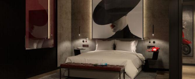 Foto eines Raddison Red Zimmers