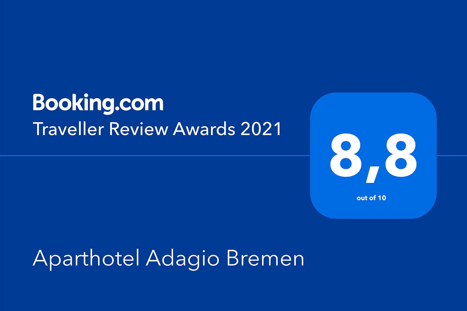 Aparthotel Adagio Bremen - Traveller Review Award 2021