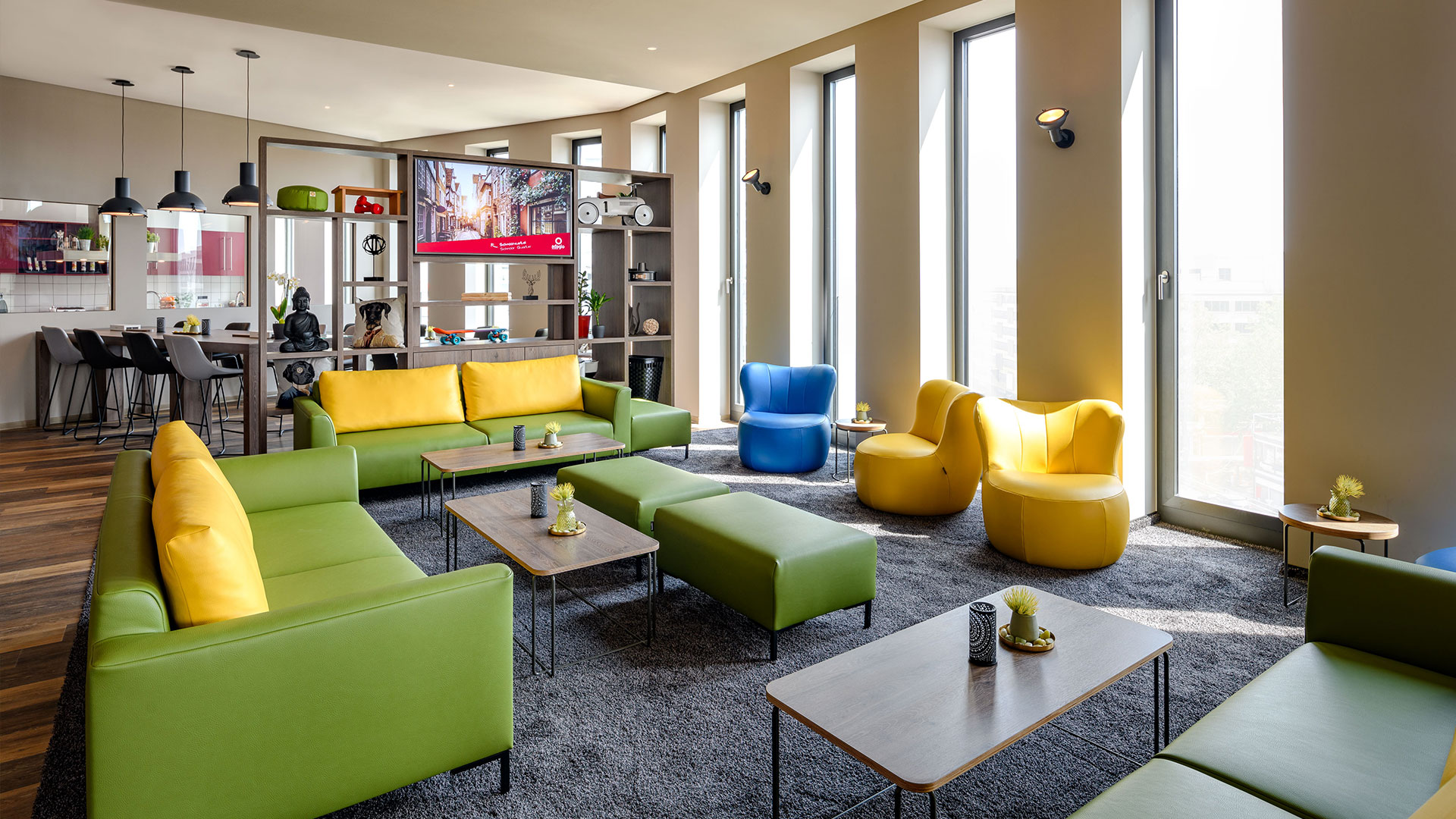 Aparthotel Adagio Bremen City Center - Lounge