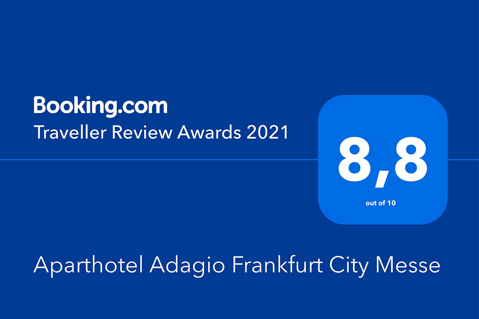 Aparthotel Adagio Frankfurt City Messe - Traveller Review Award 2021