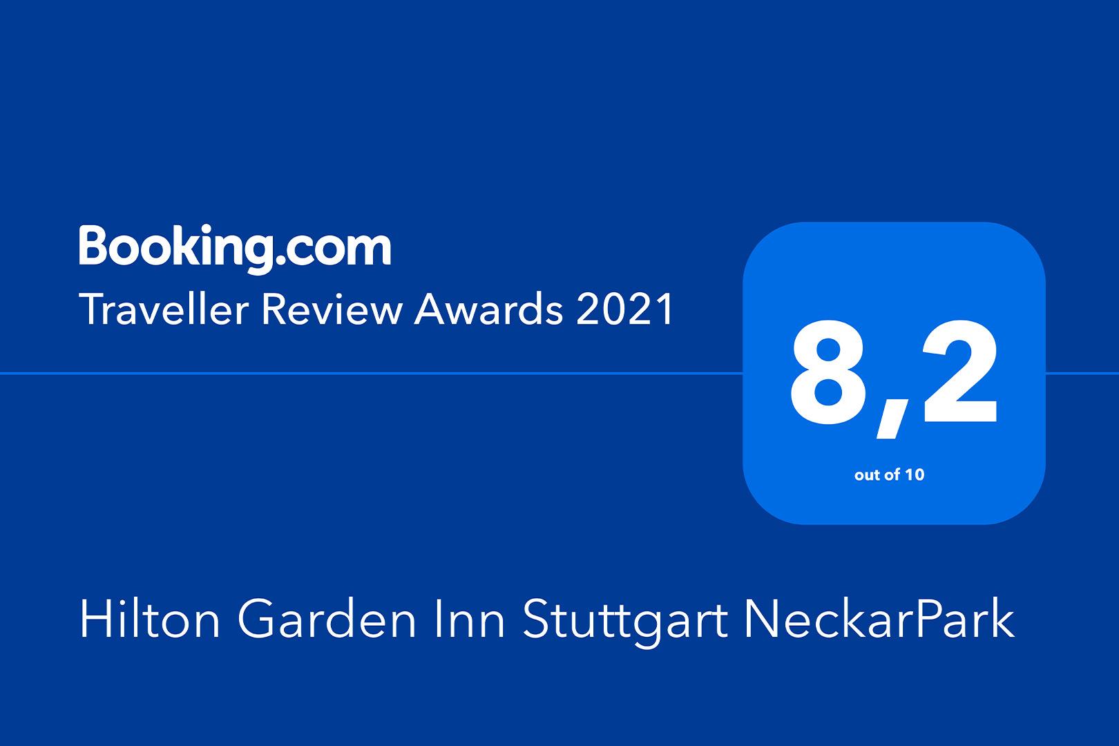 Hilton Garden Inn Stuttgart NeckarPark - Traveller Review Award 2021