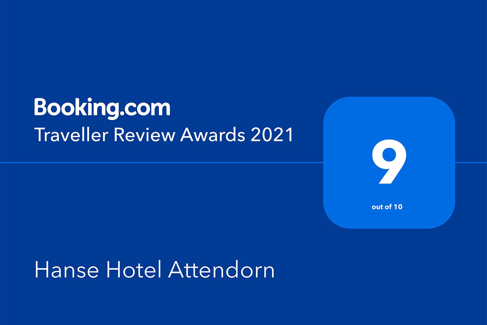 Hanse Hotel Attendorn - Traveller Review Award 2021