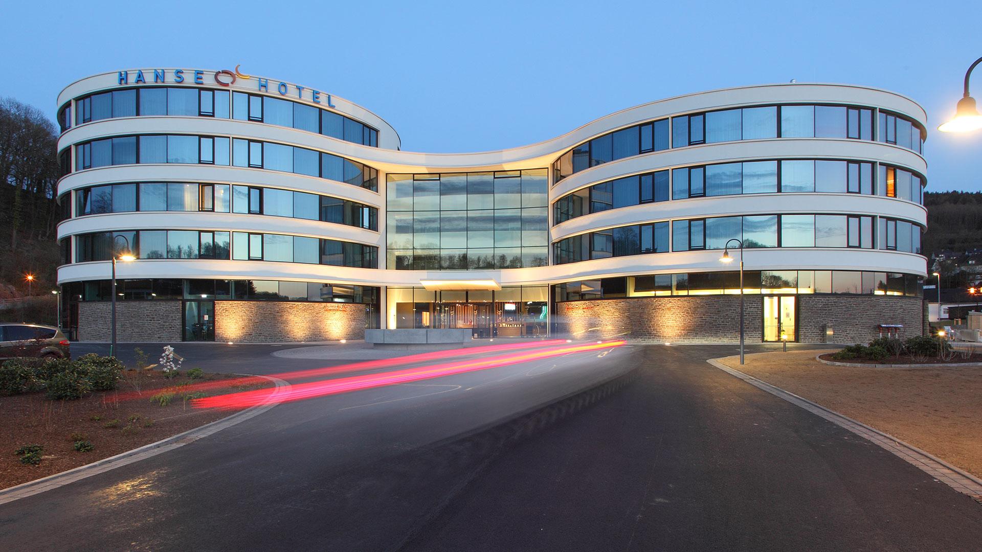 Hanse Hotel Attendorn - Außenansicht