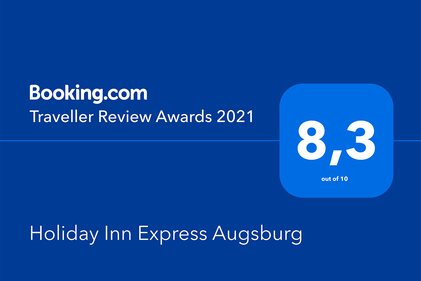 Holiday Inn Express Augsburg - Traveller Review Award 2021