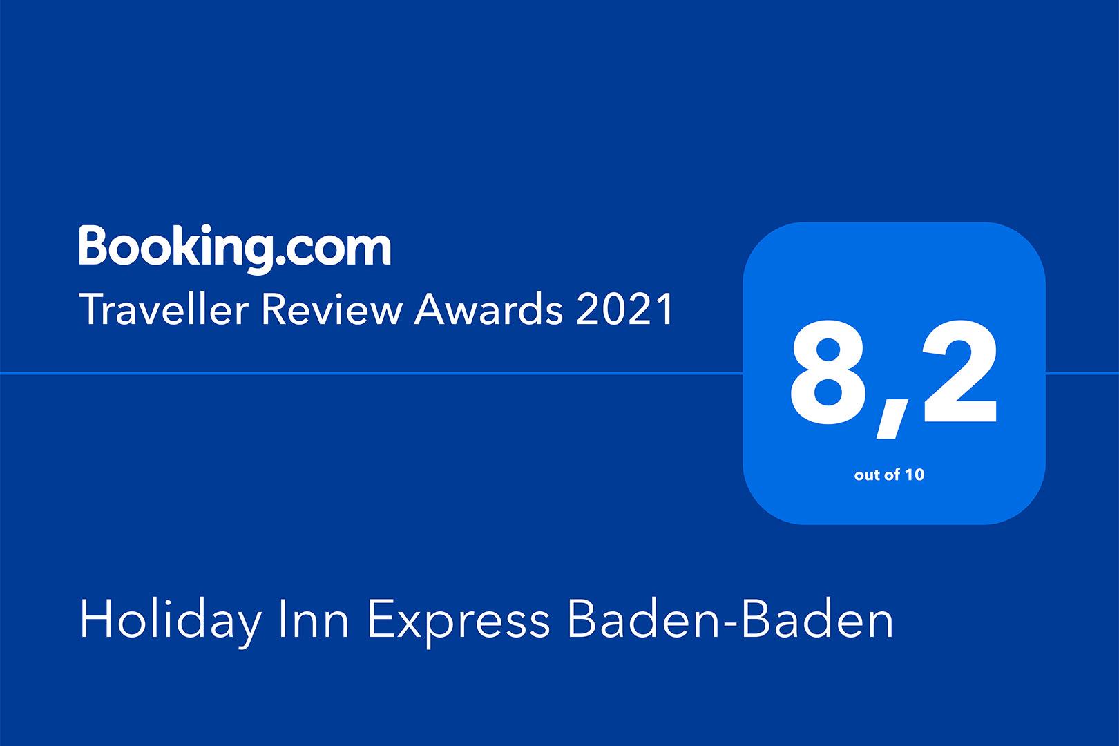 Holiday Inn Express Baden-Baden - Traveller Review Award 2021