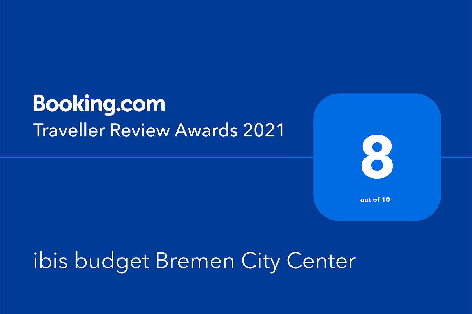 ibis budget Bremen City Center - Traveller Review Award 2021