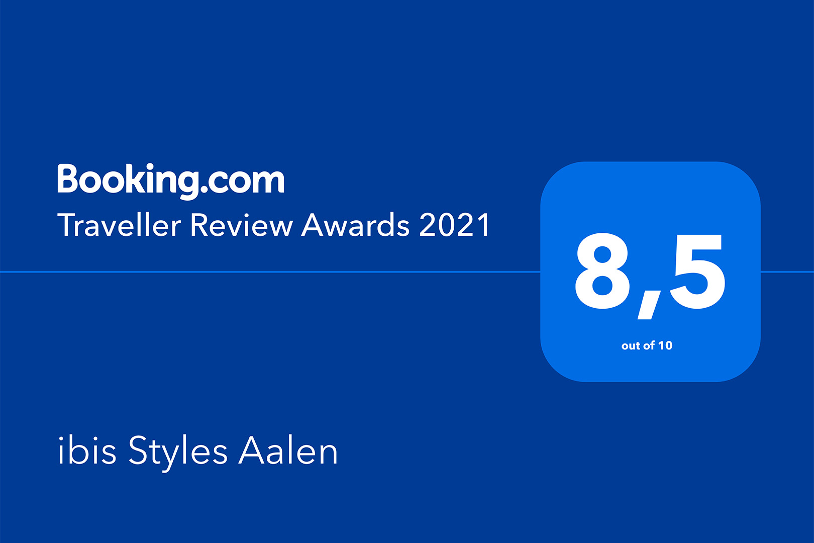 ibis Styles Aalen - Traveller Review Award 2021
