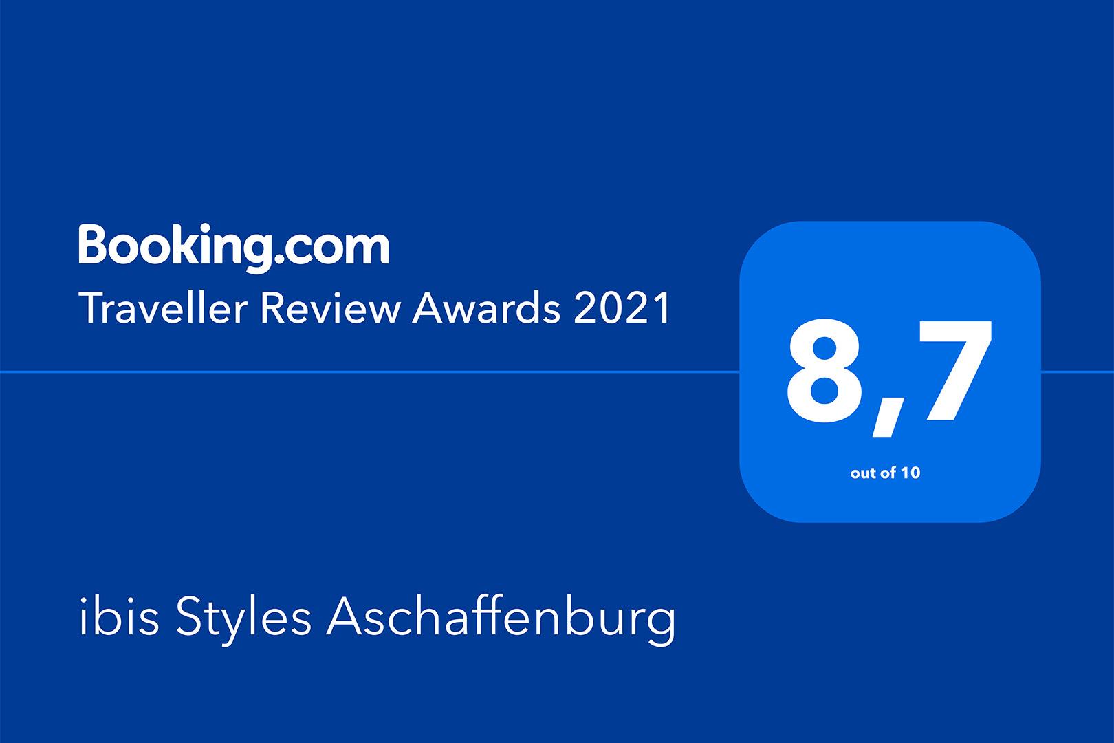 ibis Styles Aschaffenburg - Traveller Review Award 2021